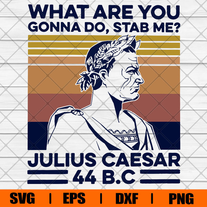 What Are You Gonna Do Svg,Stab Me Julius Caesar 11bc Svg, Svg, Eps, Png, Dxf