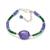 Emerald Beaded Bracelet,Emerald Faceted Roundelle Beads Jewelry,Emerald