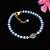 Ethiopian Opal Bracelet,Tanzanite Beads Bracelet,Opal Jewelry,Tanzanite