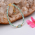 Ethiopian Opal Bracelet,Opal Beads Bracelet,Silver Bracelet,Emerald