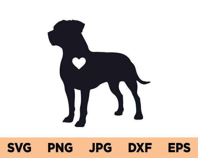 American Pit bull SVG, Pitbull SVG, Pit Bull Dog SVG, Pit Bull SVG, SVG Cut File