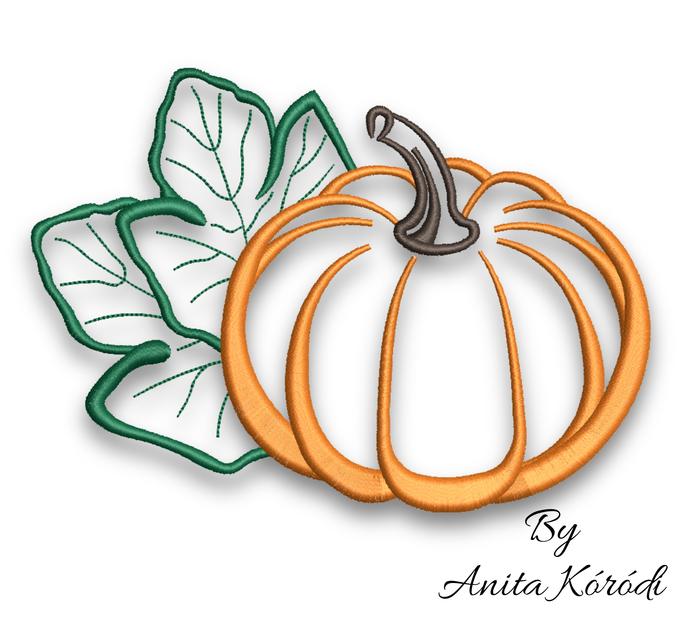 Pumpkin embroidery machine designs pes halloween pattern halloween