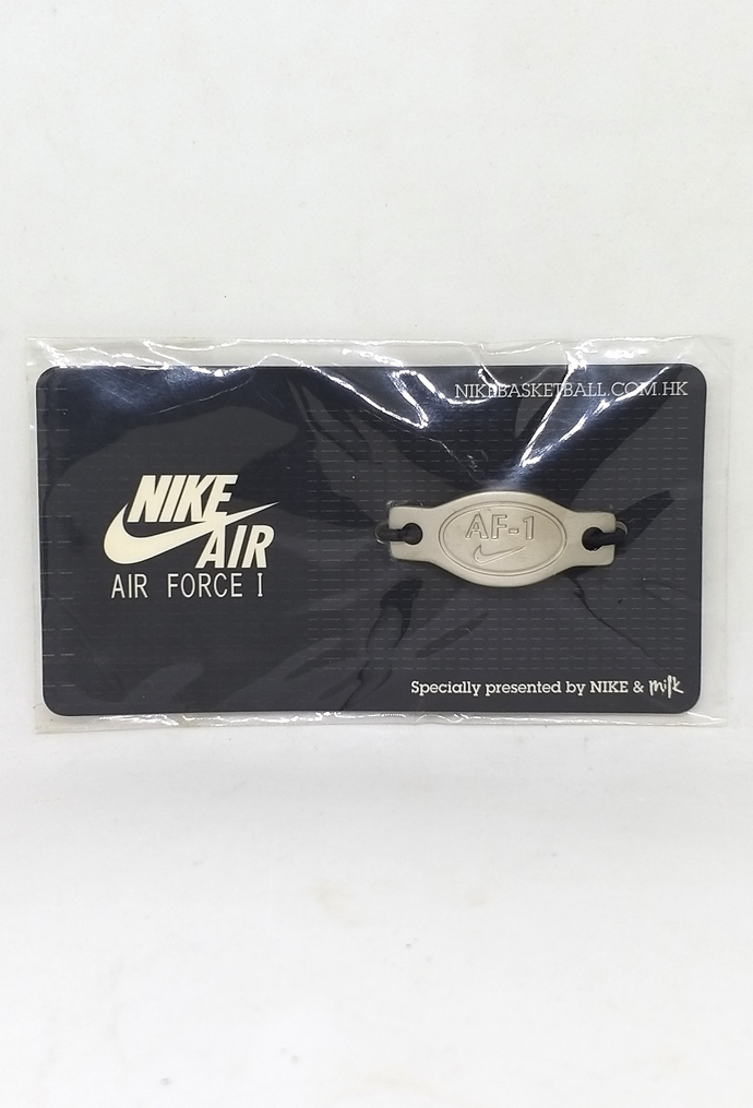 Nike Air Force One 25th anniversary Lace Lock - Hong Kong Special Edition - RARE