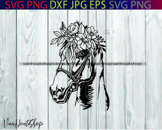 Wild Horses DXF, Horse Clipart SVG, Animals cut file for laser, dxf for plasma,