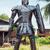 Roman warrior - 2.20 Metre Metal art sculpture - unique metal art decor -