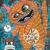 The 3 a.m. Monster 2 Original Whimsical Cat Folk Art Painting