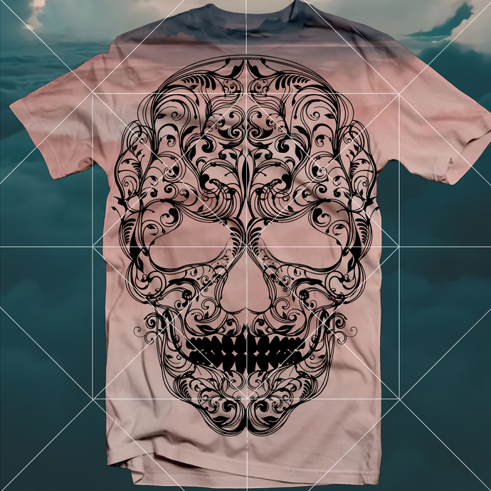 Hypnotic Skull, Skull Svg, Skull Vector, Sugar Skull Svg, Sugar Skull Vector,