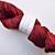 Handspun Yarn – 70% Bluefaced Leicester Wool 30% Silk – Sport Weight – Red /