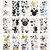 Disney © The Happy Planner Value Pack Stickers - Large Mickey Mouse and Minnie