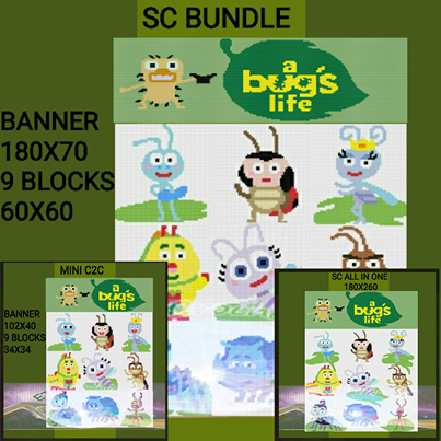 48 HOUR RELEASE - Bugs Life 3in1 - All in ONE SC- Block Bundle SC - Block Bundle