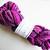 Handspun Yarn – Exmoor Blueface Wool – 105 grams – Sport Weight – Cerise Pink,