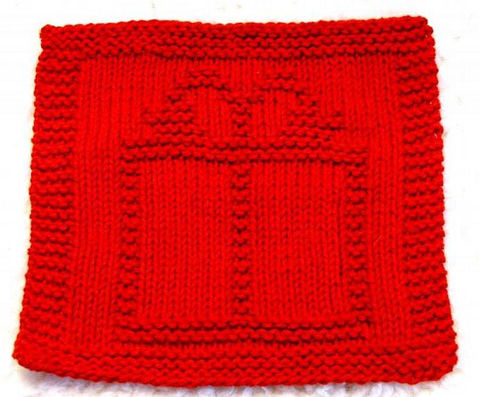 Knitting Cloth Pattern - CHRISTMAS GIFT - PDF