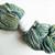 Handspun Yarn – Bluefaced Leicester Wool – Sport Weight – Green / Blue / Oatmeal