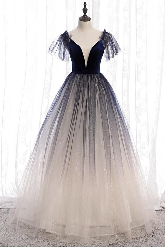 Elegant Backless Lace Up Long Charming Princess Prom Dresses For Girls M10321