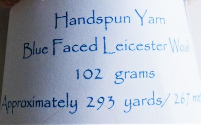 Handspun Yarn – 100% Blue Faced Leicester Wool – Sport Weight – Peach / Orange /
