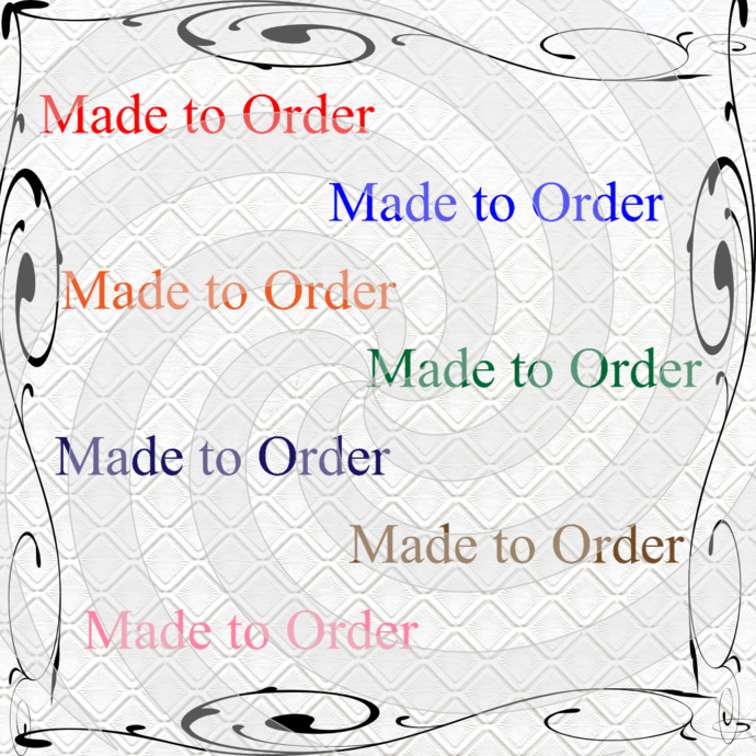 Made to Order-Digital ClipArt-Font-PNG-Gift Tag-T