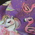 SMALL Flamingo and Unicorn Soft Cotton Knit Dog Dress and Headbow