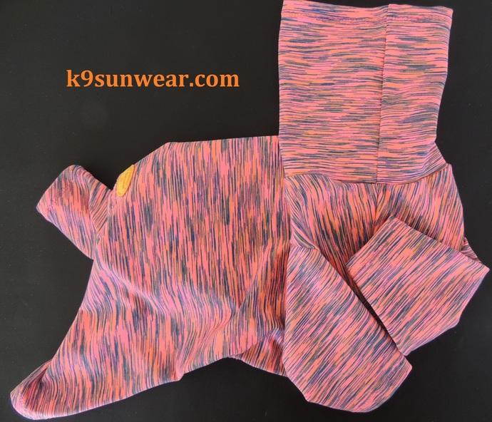 LARGE Cool Touch K9 Sunwear Sunblocking Dog Suit