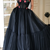 Charming Tulle Black Party Dresses, Beautiful Prom Gowns ,DR0295