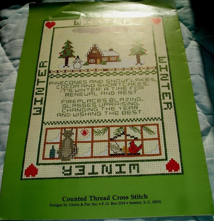 For All Seasons Cross Stitch Designs By Gloria & Pat Leaflet 10