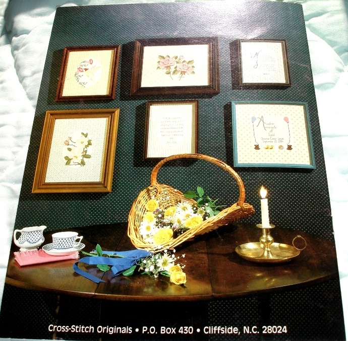 A Country Print Occasion Counted Cross Stitch By Miley Dover  Book 47