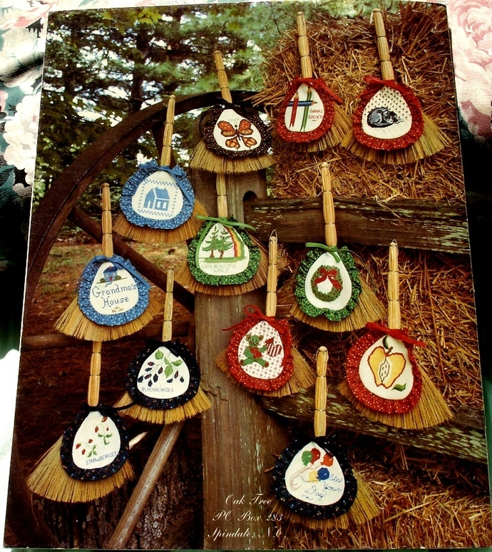 A Little Broom For You 24 Little Designs Book 9 By Oak Tree
