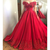 New Red Ball Gown Prom Dresses Women Evening Dresses off the Shoulder Lace
