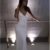 White Sequin Prom Dresses Mermaid Long Sleeveless Evening Dresses Backless