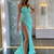 Strapless Mermaid Long Prom Dress , Unique Prom Dress