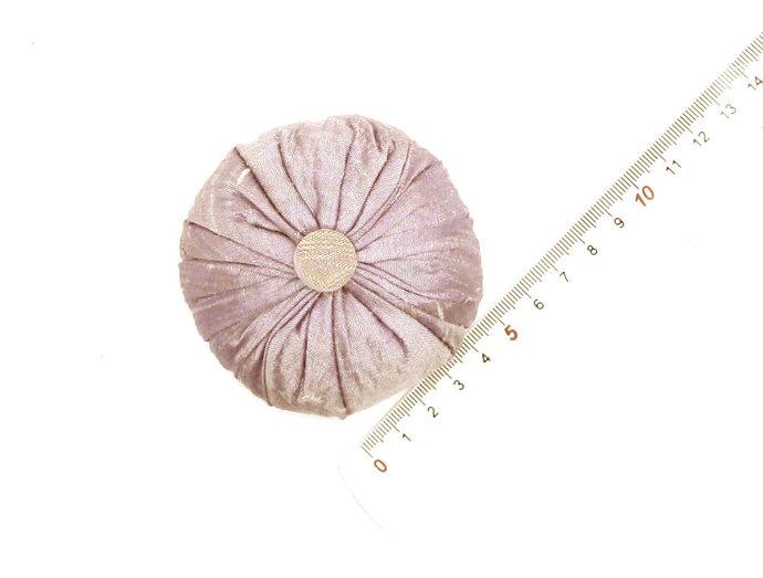 Lavender Sachet in Pale Lavender Dupioni Silk