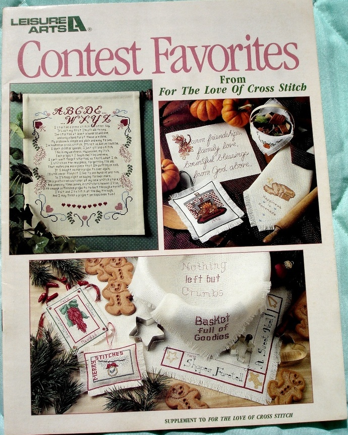 Contest Favorites From For The Love Of Cross Stitch By Leisure Arts
