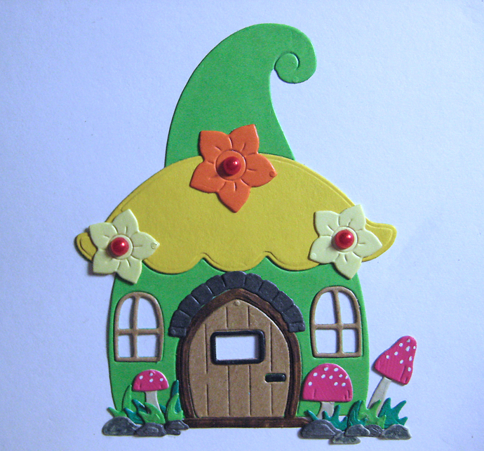Fairy Gnome House Cottage Metal Cutting Die