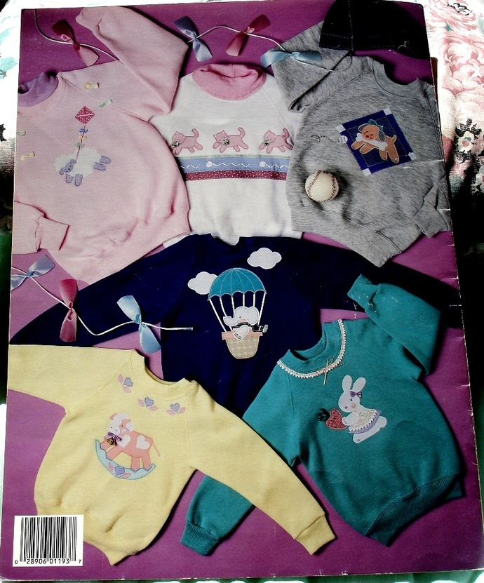 Kasual Kids Sweat To Applique Leisure Arts Leaflet 1193 By Marina Anderson