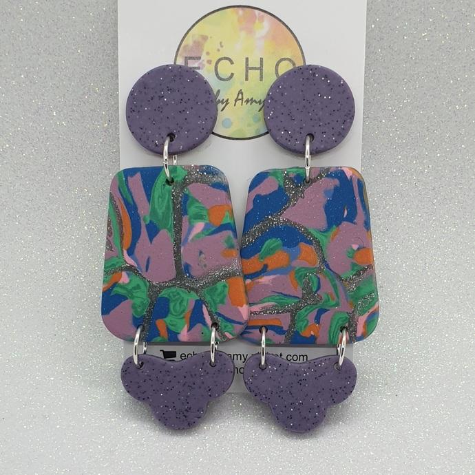 Purple Marble Mashups - cloud bottoms