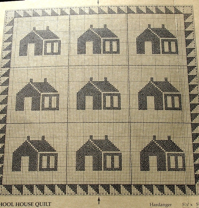 Cedar Hill Country Leaflet #4 School House Quilt and The Ohio Star