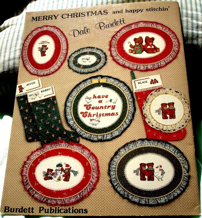 Have A Country Christmas Cross Stitch Pattern By Dale Burdett