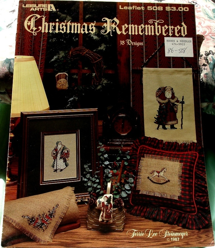 Christmas Remembered Cross Stitch Patterns By Terri Lee Steinmeyer