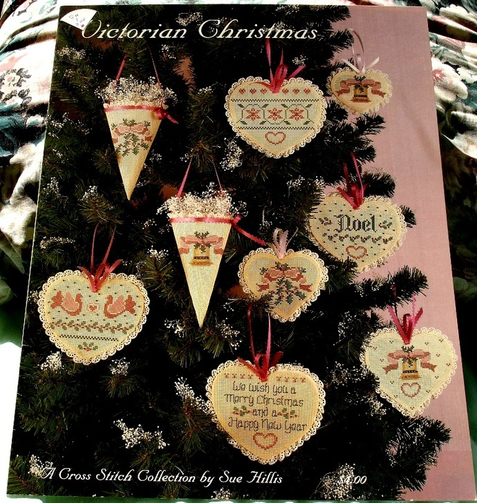 Victorian Christmas A Cross Stitch Collection By Sue Hills Designs
