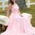 Simple sweetheart chiffon long prom dress  bridesmaid dress