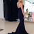 Strapless Mermaid Prom Gown with Sweep Train