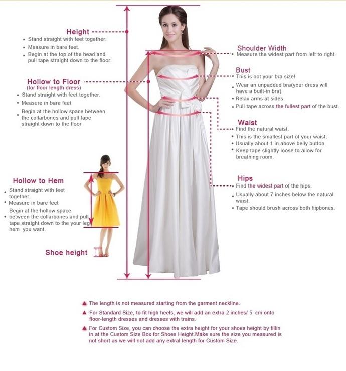 Simple long prom dress  prom dress