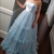 Strapless Prom Gown