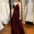 Burgundy Prom Dress,Evening Dress,Prom Dresses