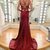 Prom dresses 2021,Burgundy Prom Dress,Evening Dress,Prom Dresses