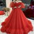 Tulle Ball Gown prom Dresses