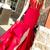 Sweetheart Mermaid Appliques Long Prom Dress with Side Split
