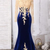 Off The Shoulder Long Sleeves Mermaid Prom Dress