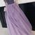 Elegant Cold Shoulder Beaded Lavender Long Prom Dress