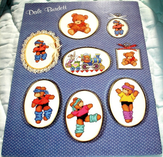 I Love Miniatures Cross Stitch Chart Designs By Dale Burdett DB113