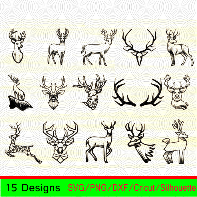 Deer svg,Deer clipart,Deer vector,Deer silhouette,Deer face svg,Deer face